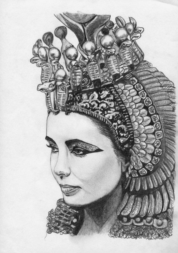 Drawn figurine cleopatra Images 79 on best about