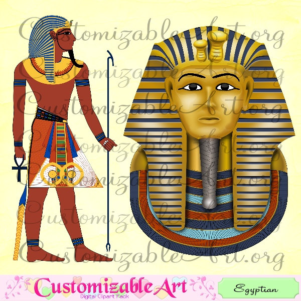Ancient clipart king tut Digital Images Egyptian King King