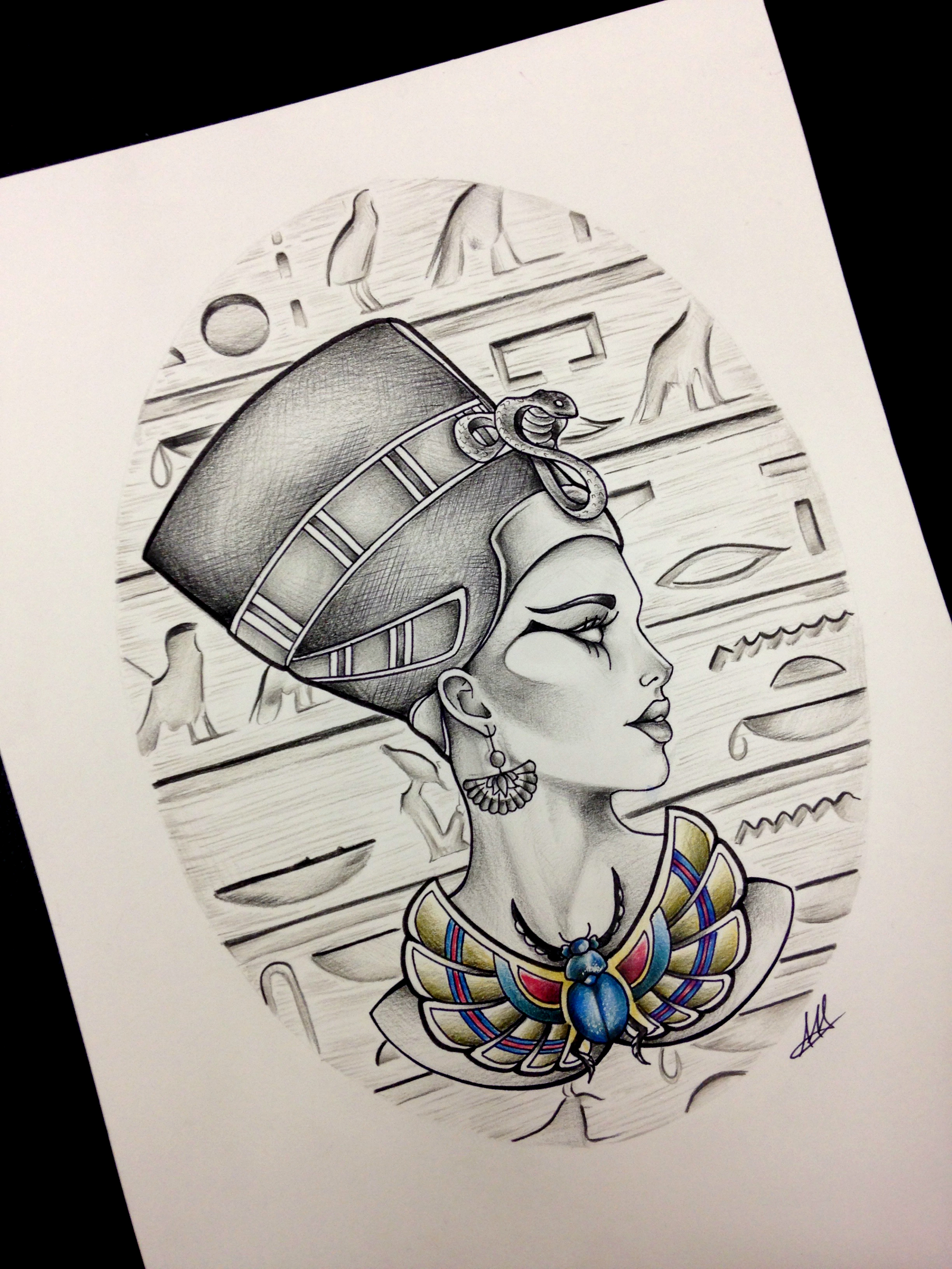 Egyptian Queen clipart egyptian art Mua more @badgalronnie Pin on