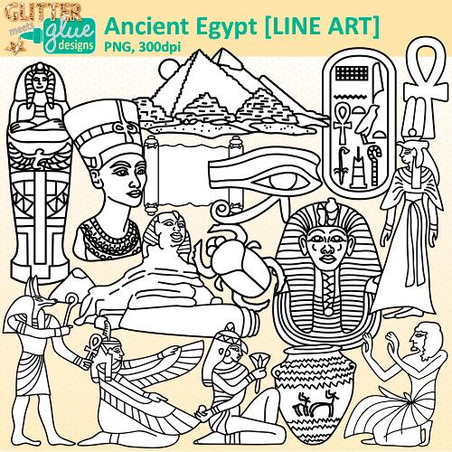 Ankh clipart ancient civilization Art Glitter Egypt Teacher Ancient