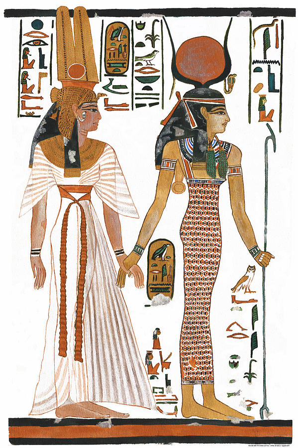 Egyptian Queen clipart black and white The Egyptian Egyptian by Greeting