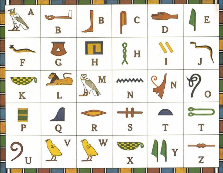 Hieroglyphs clipart egyptian cat #9