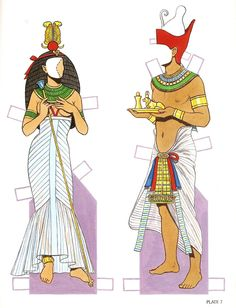 Egyptian Queen clipart egyptian man Paper Color Ancient Coloring for