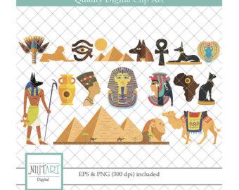 Camels clipart egyptian Digital clipart digital clipart Pyramid