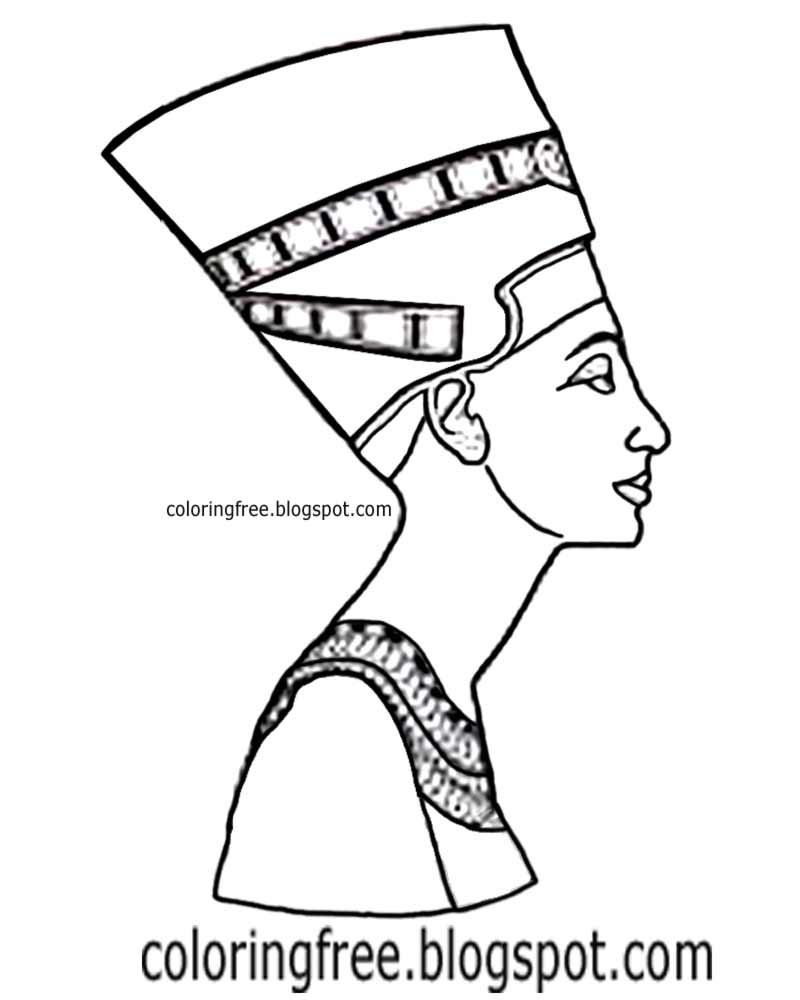 Egyptian Queen clipart found Draw to Free sketch queen