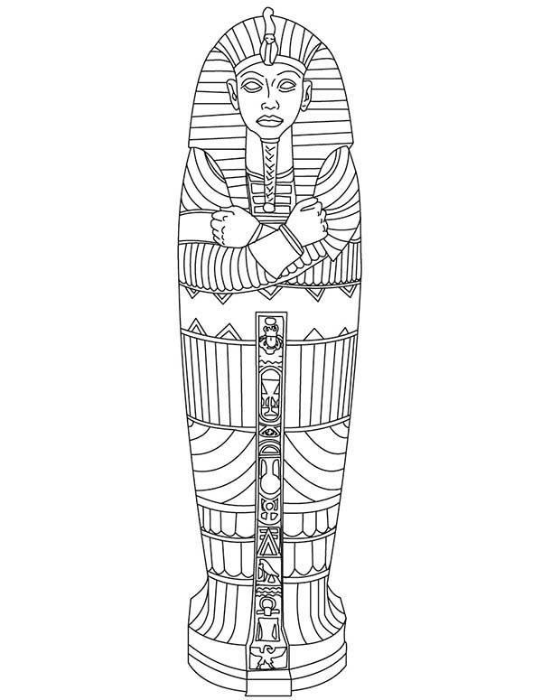 Ancient clipart king tut Gold on King Best King