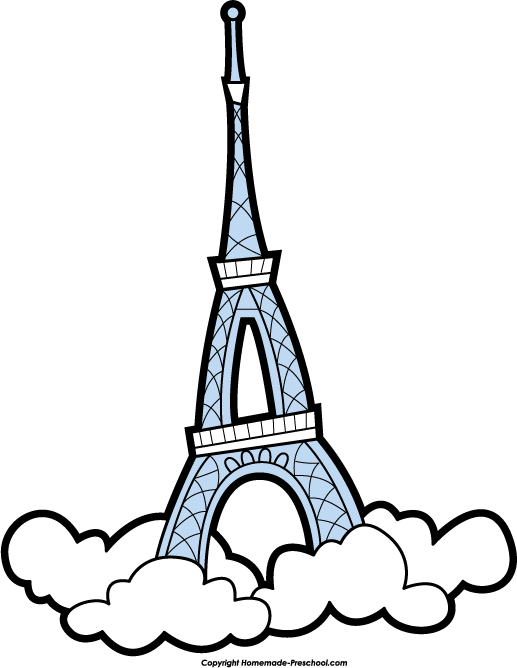 Eiffel Tower clipart #10