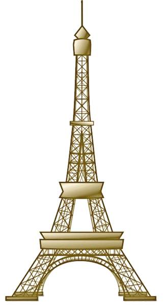 Eiffel Tower clipart #11