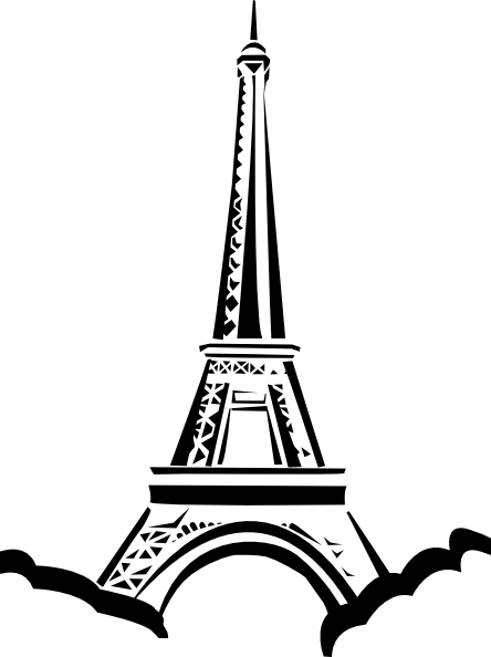 Eiffel Tower clipart #12