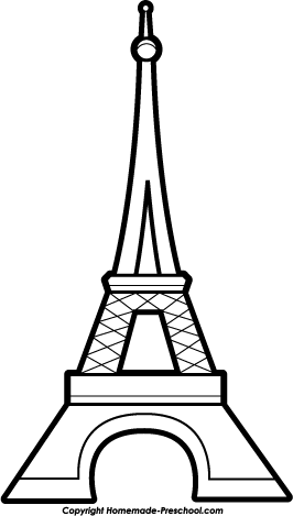 Eiffel Tower clipart #2