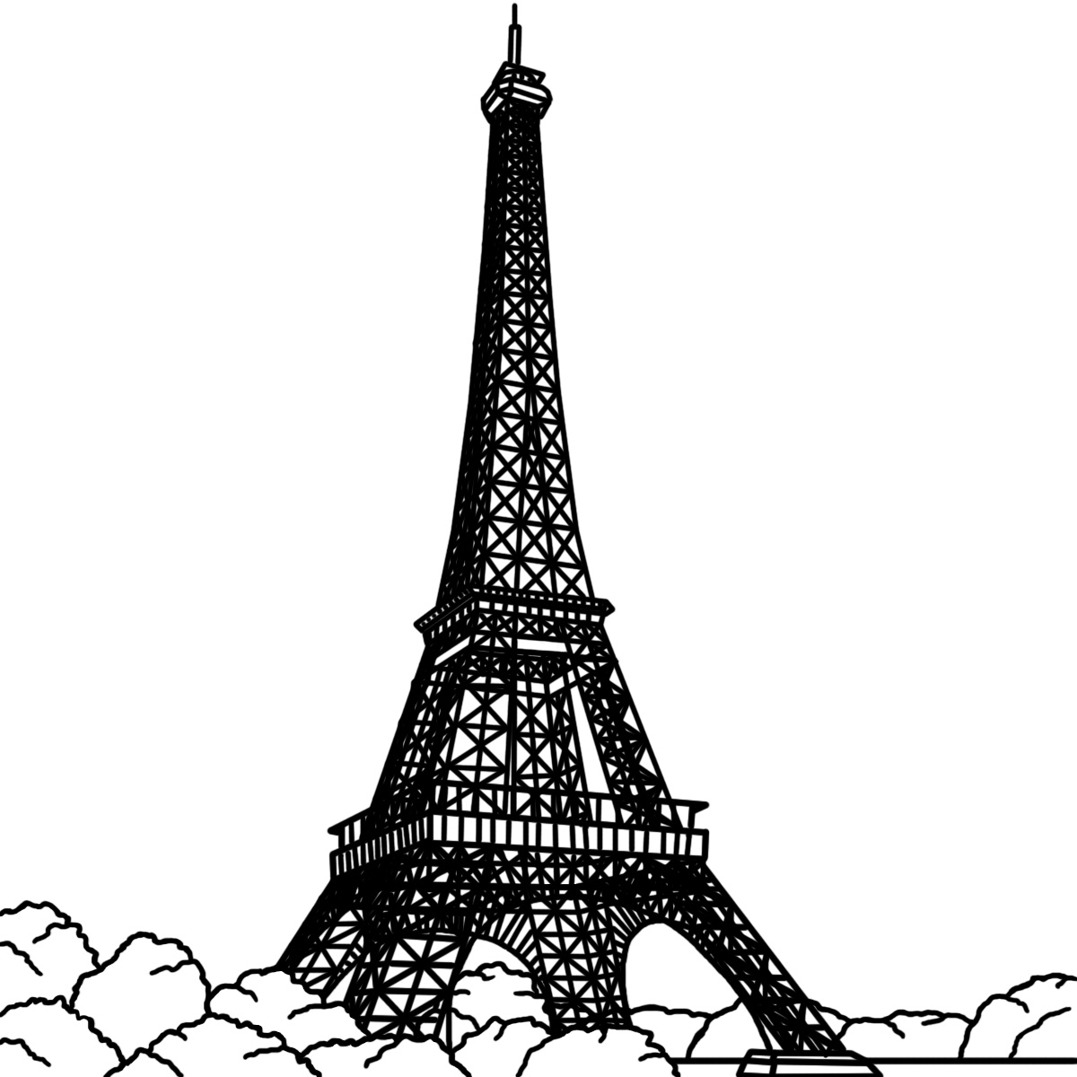 Eiffel Tower clipart #14