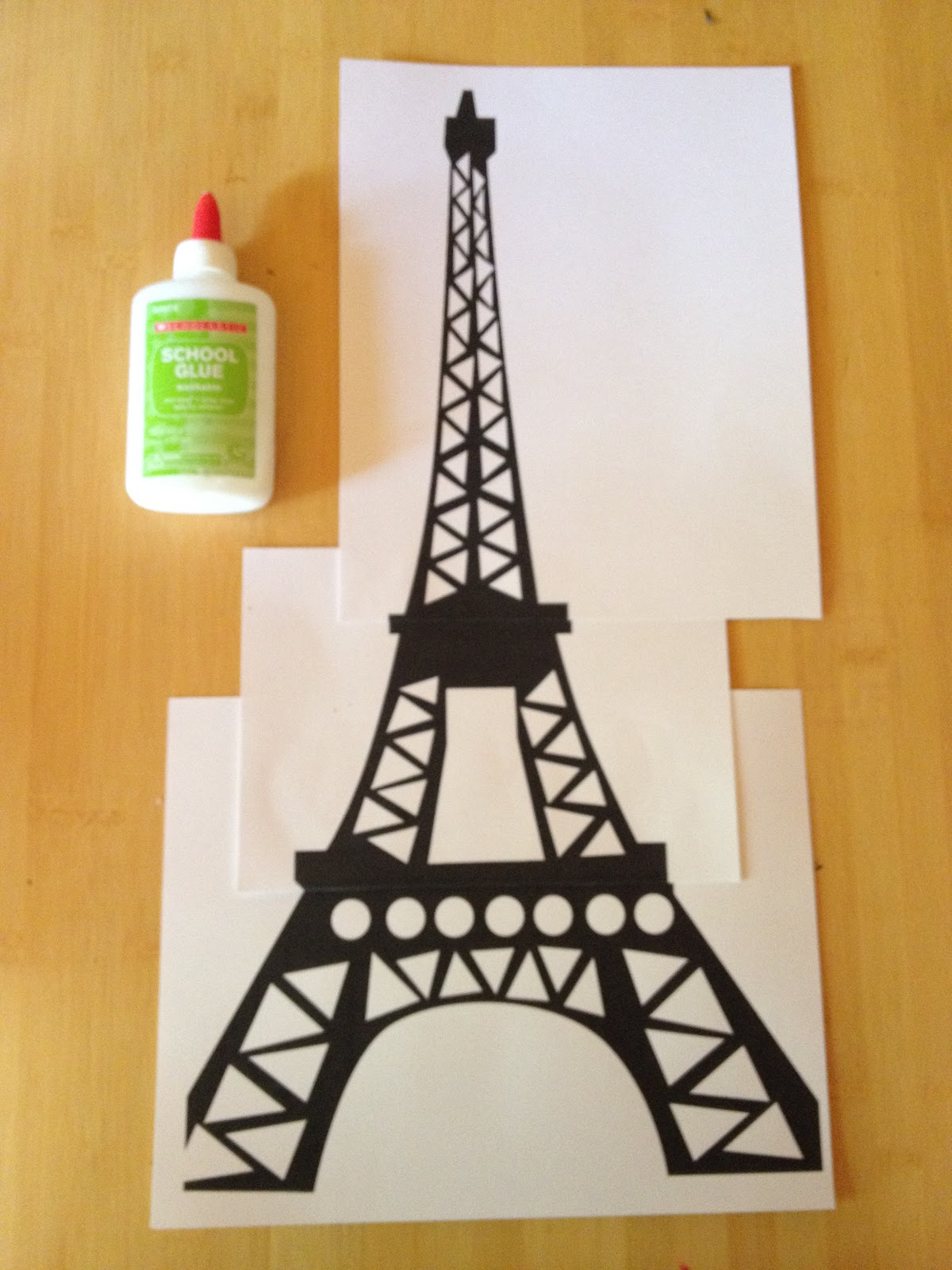 Eiffel Tower clipart simple  free engraving Tower and