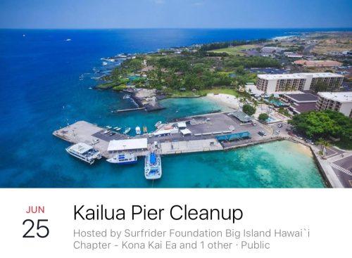 Eiland clipart beach cleanup Surfrider Kona Cleanups Beach News