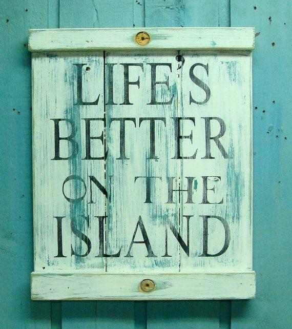 Eiland clipart beach scene Sign Weathered Pinterest Art Art
