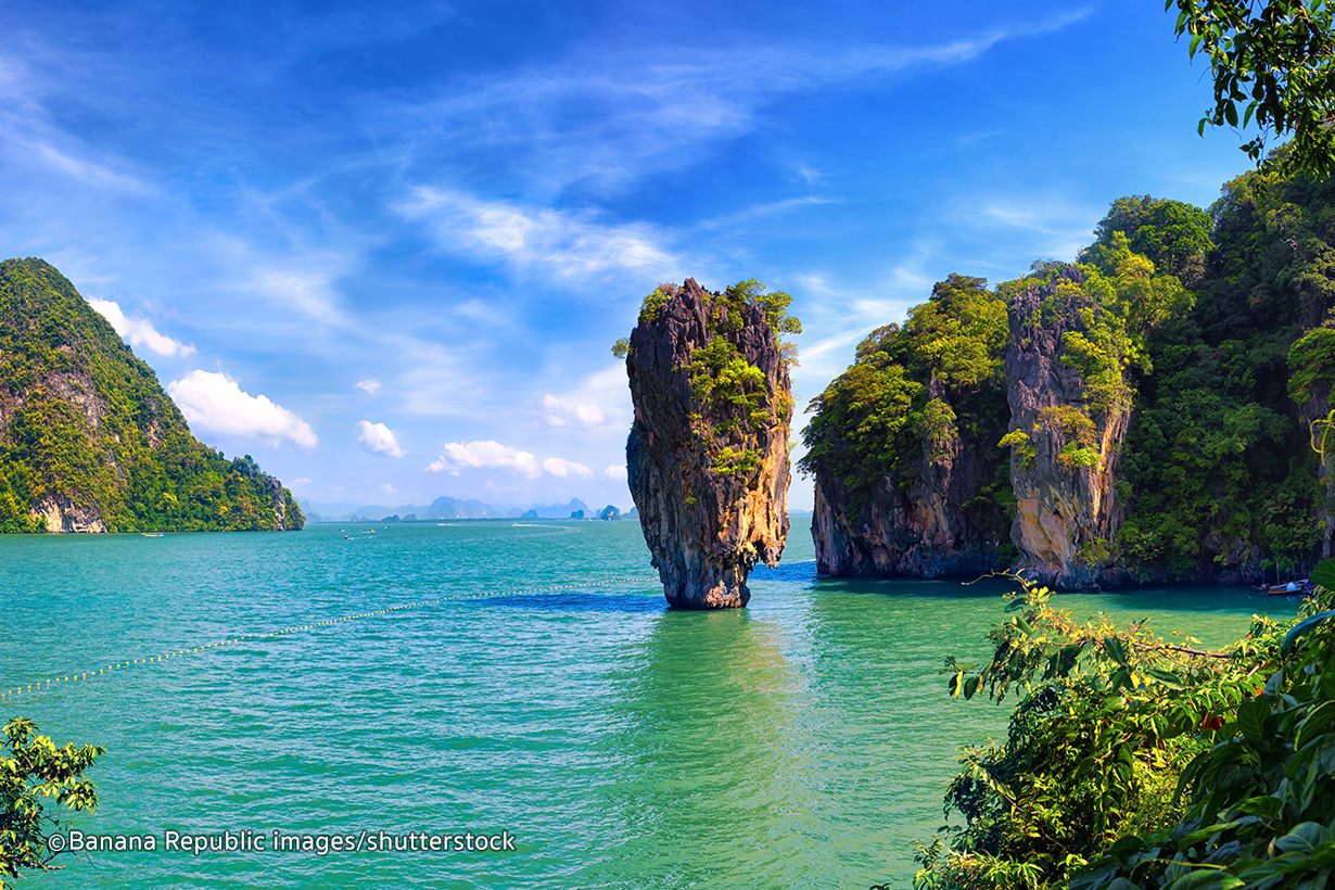 Eiland clipart beach scene Bond Attractions Phang in James