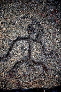 Classical clipart hawaiian petroglyph Island 1700 Prophesies Art old