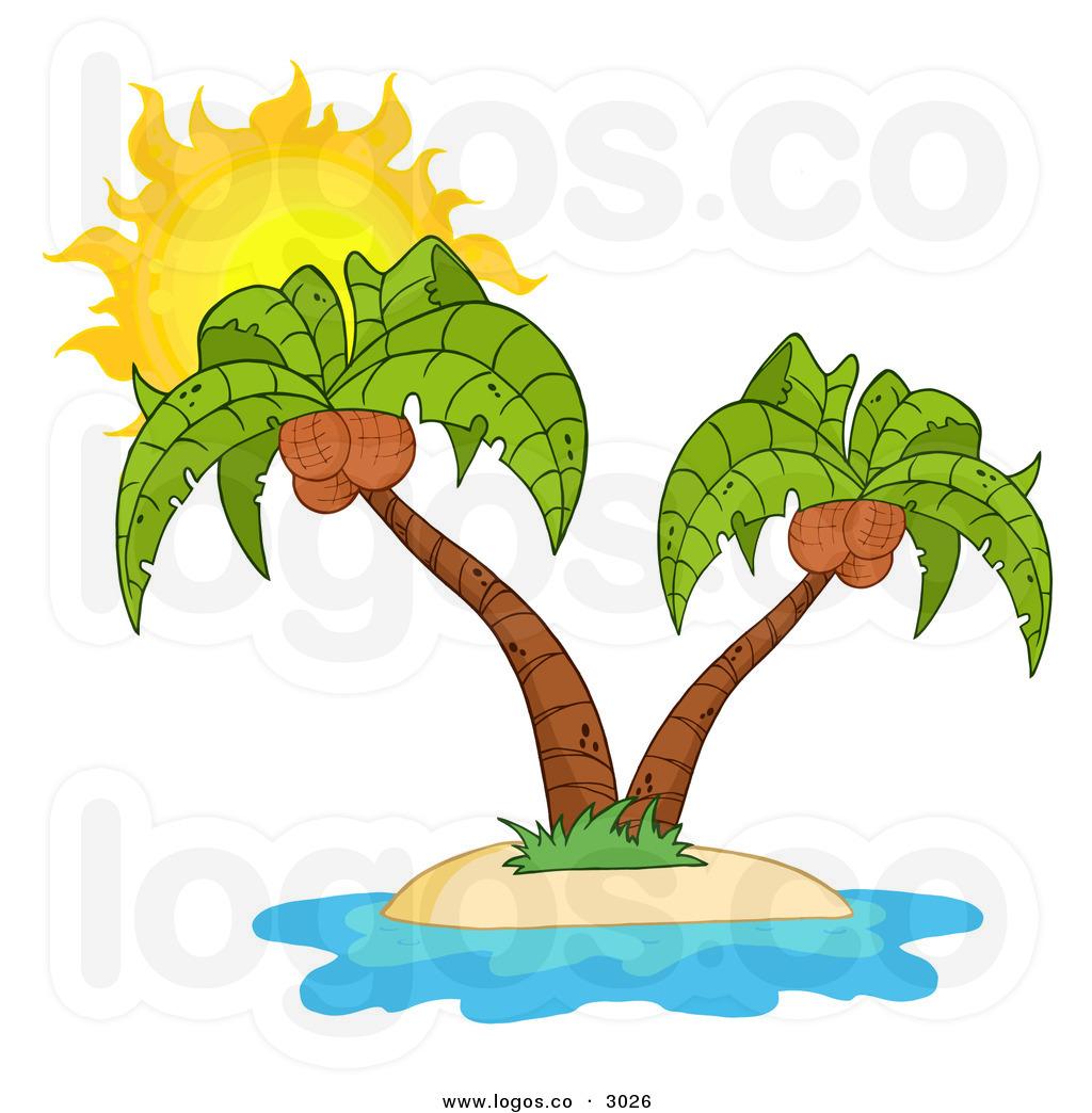 Eiland clipart palm tree beach Art Download Tree Palm –