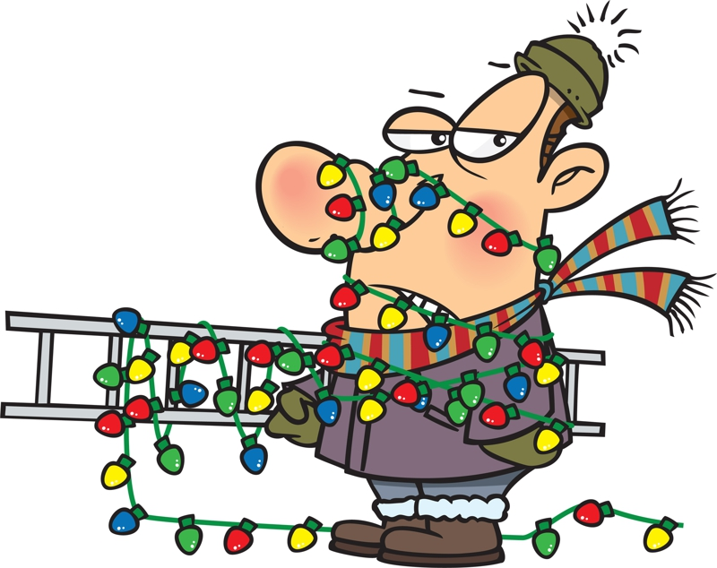 Electrical clipart christmas #2