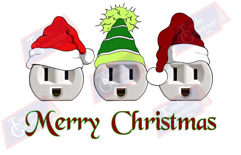 Electrical clipart christmas #3