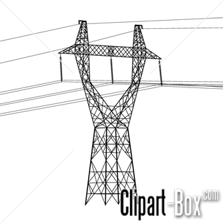 Electrical clipart electric pole (34+) Electric pole electric clip
