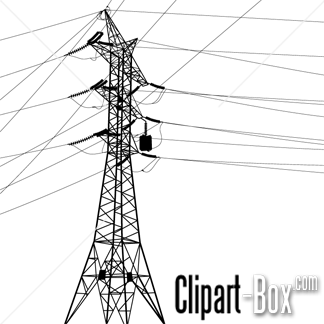 Electrical clipart electric pole Art Electricity Pole Electricity Clipart