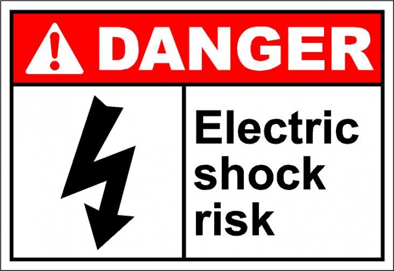 Electrical clipart electric shock ELECTRICAL FIREFIGHTERS SHOCK  AT