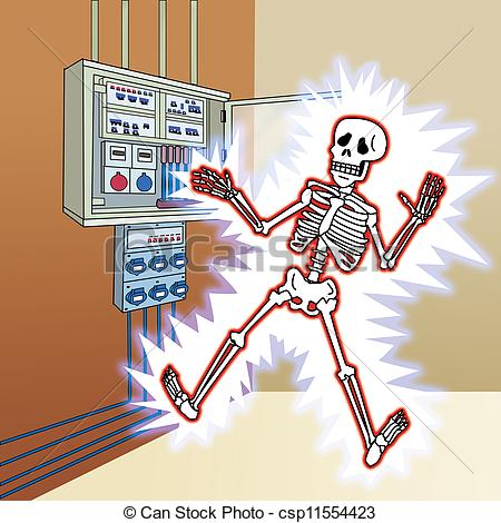 Electrical clipart electric shock Shock Electricity cliparts Funny Clipart