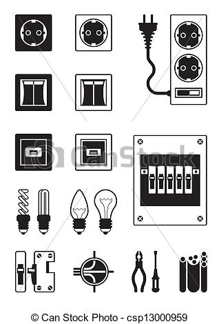Electrical clipart electrical installation Vector engineering Images 816 1