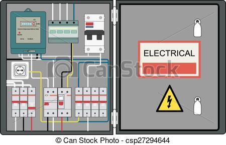 Electrical clipart electrical panel #3