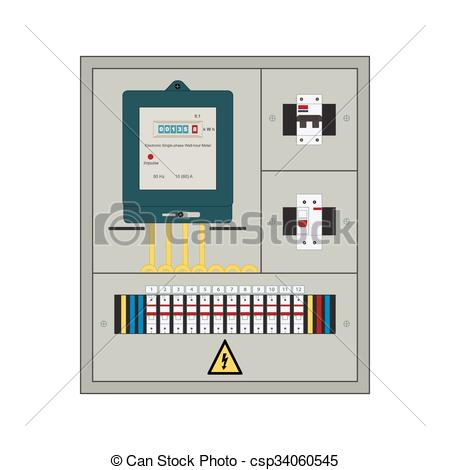 Electrical clipart electrical panel #11