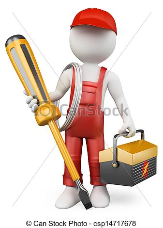 Electrical clipart electrical technician #8