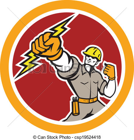 Electrical clipart electrical technician #7