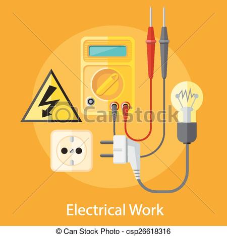 Electrical clipart electrical work #10