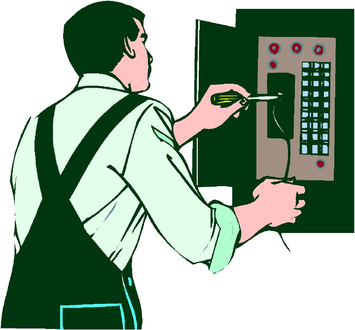 Electrical clipart electrical work #7