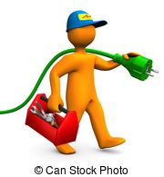 Electrical clipart electrical work #12