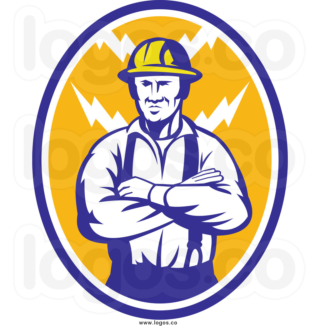 Electrical clipart electrician Free cliparts Clipart Contractor Logos