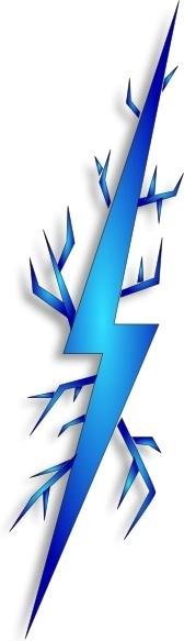 Electrical clipart electricity bolt Art Spark Open svg office