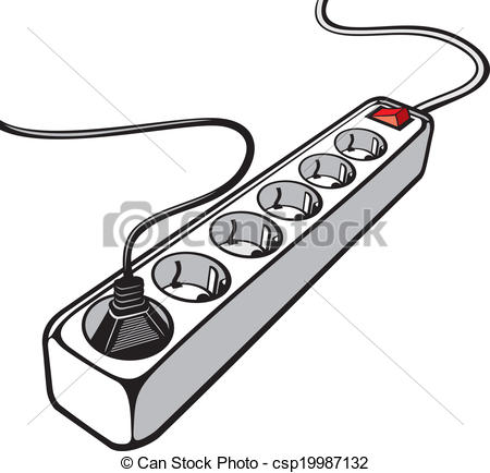 Wire clipart extension cord Cord electric  cord of
