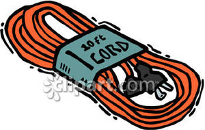 Wire clipart extension cord Download – Electrical Clipart Electrical