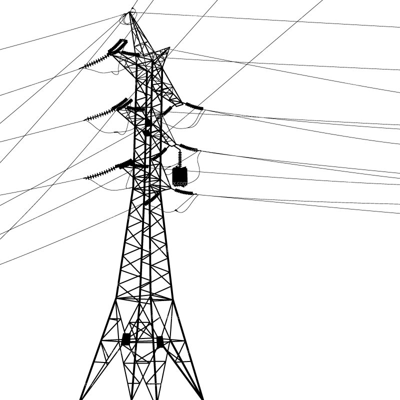 Wire clipart electrical energy Electric clipart pole clipart pole