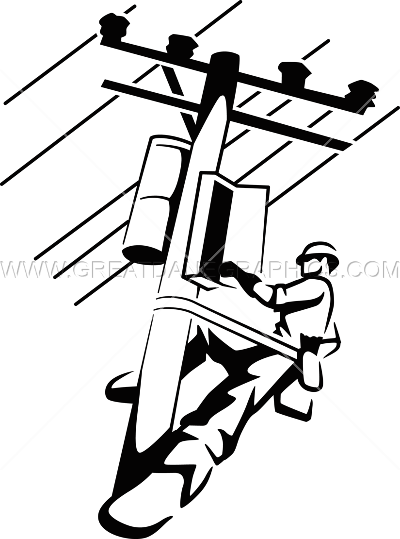 Electrical clipart lineman Printing Electrical T Artwork Lineman
