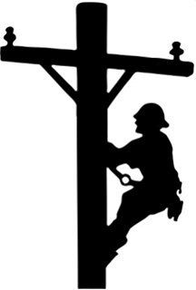 Electrical clipart lineman The Grid Lineman and Etsy