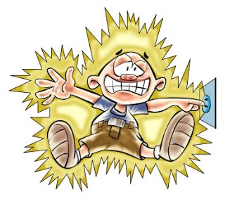 Wire clipart electric shock When you electric electric become