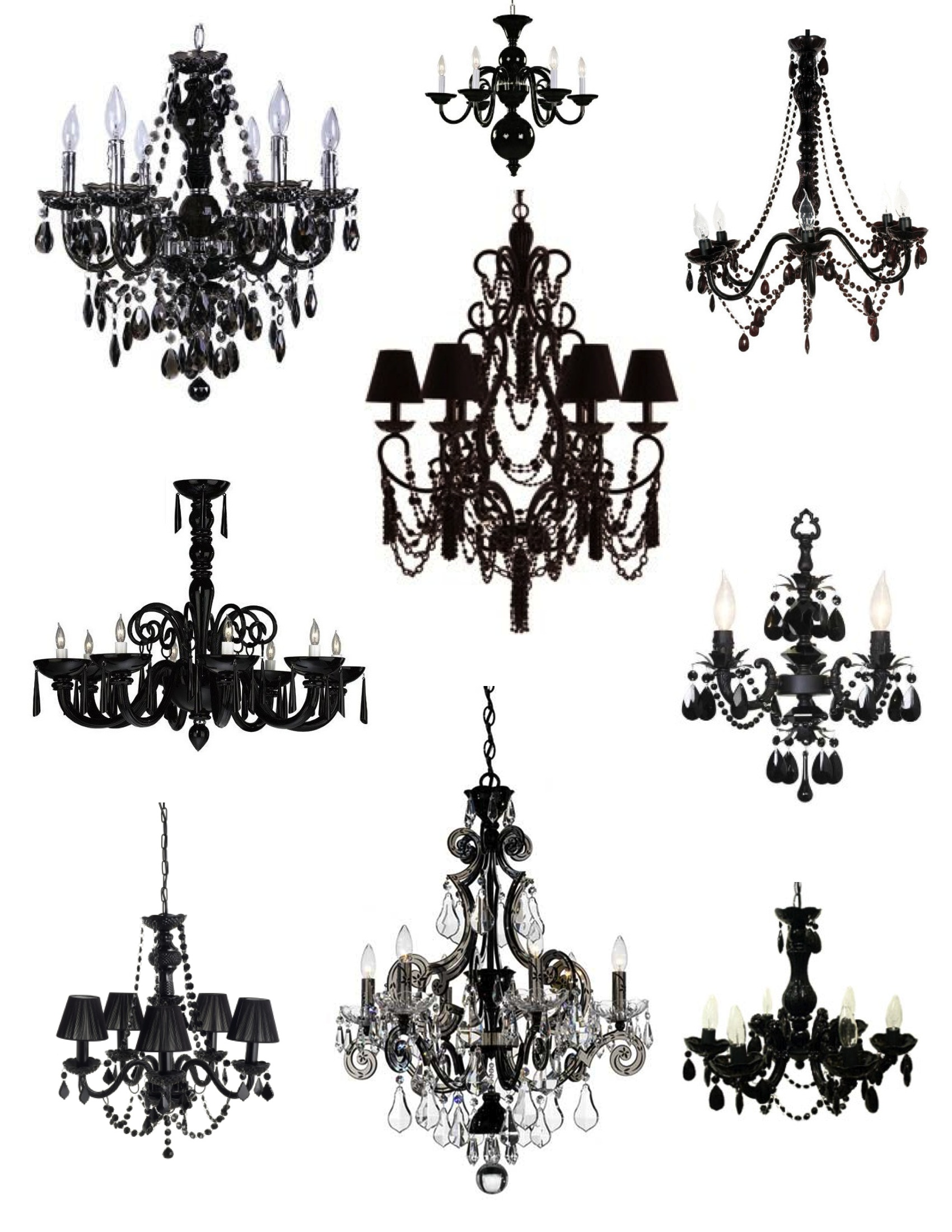 Chanel clipart chandelier Black Black Of  Elegance