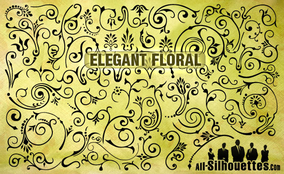 Elegance  clipart elegant shape Downloads!! Floral Design Awesome Elegant