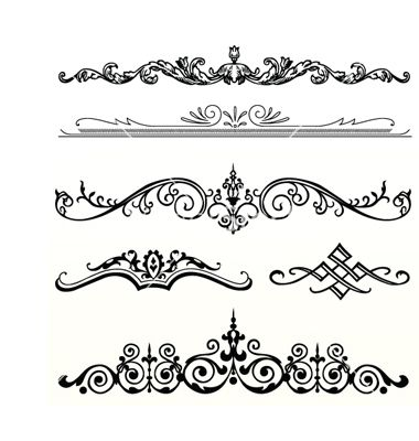 Elegance  clipart header  kvietimai by 187115 Header