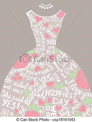 Elegance  clipart pretty dress Beautiful with with of Wedding