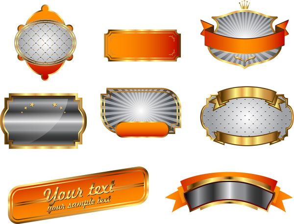 Elegance  clipart ribbon scroll And Free 300 vector badge