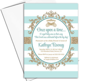 Elegance  clipart royal baby Royal shower shower baby invites