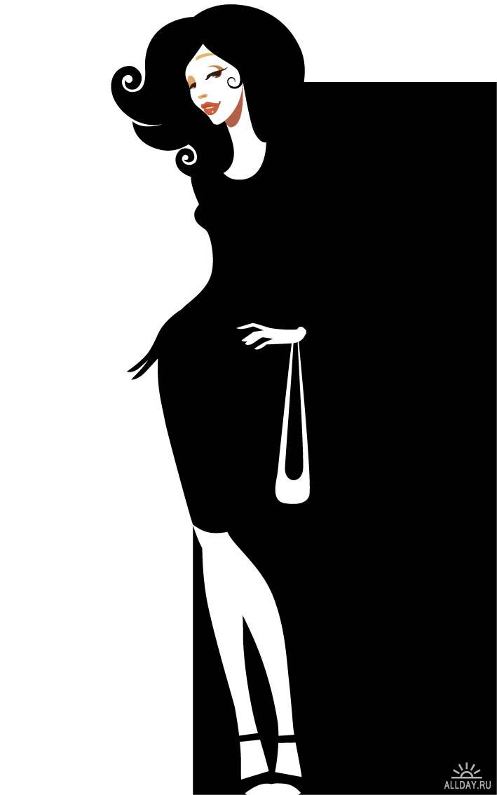 Elegance  clipart sophisticated lady Elegant Pinterest images on silhouettes